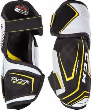 Налокотники хоккейные TACKS 5092 CCM. Цвет: черный