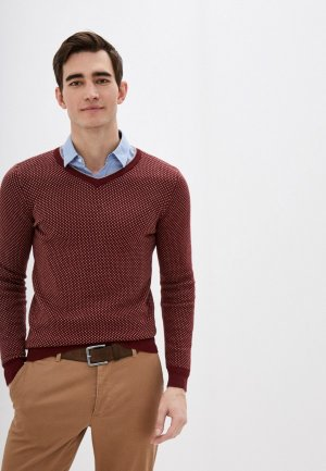 Пуловер Concept Club. Цвет: бордовый