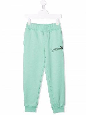 Future track pants MSGM Kids. Цвет: зеленый