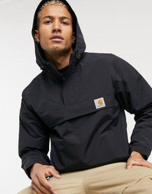 Черная куртка-пуловер nimbus-Черный Carhartt WIP