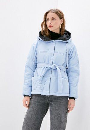 Куртка утепленная Dimma. Цвет: голубой