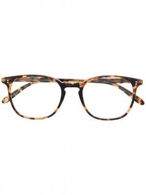 Очки Doreen в квадратной оправе Garrett Leight. Цвет: коричневый