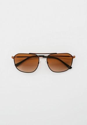 Очки солнцезащитные Emporio Armani EA2107 304913. Цвет: коричневый