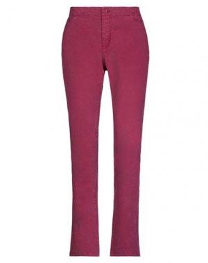 Повседневные брюки GANT. Цвет: пурпурный