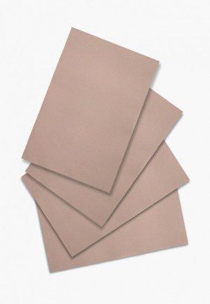 Комплект салфеток сервировочных DeNastia Талисман. Цвет: бежевый
