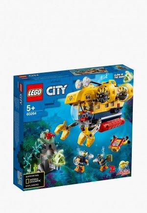 Конструктор LEGO Ocean Exploration Submarine. Цвет: разноцветный