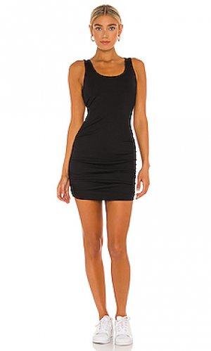 Мини платье norma YEAR OF OURS. Цвет: черный
