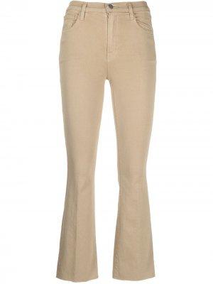 Укороченные джинсы Alma J Brand. Цвет: нейтральные цвета
