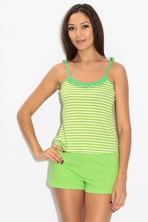 Трикотажный костюм EVA Teks. Цвет: зеленый