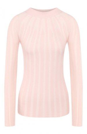 Кашемировый пуловер Giorgio Armani. Цвет: светло-розовый
