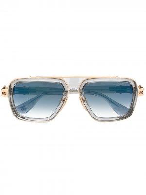 Солнцезащитные очки LXN-EVO Dita Eyewear. Цвет: серый