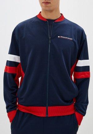 Олимпийка Tommy Sport. Цвет: синий