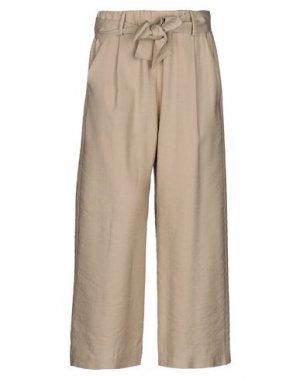 Повседневные брюки HANITA. Цвет: бежевый