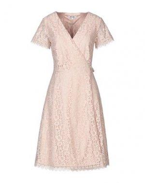 Платье до колена DRY LAKE.. Цвет: песочный