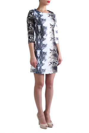Платье EVA Milano. Цвет: коричневый