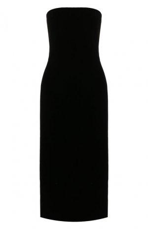 Платье из вискозы Givenchy. Цвет: черный