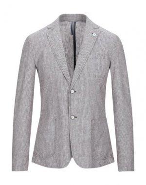 Пиджак SSEINSE. Цвет: хаки