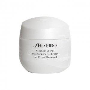 Увлажняющий энергетический гель-крем Shiseido. Цвет: бесцветный