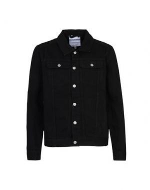 Джинсовая верхняя одежда ANERKJENDT. Цвет: черный