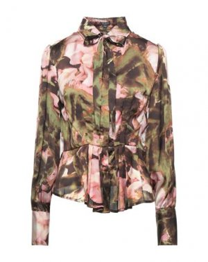 Pубашка FULL CIRCLE. Цвет: зеленый-милитари