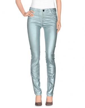 Джинсовые брюки 75 FAUBOURG. Цвет: бирюзовый