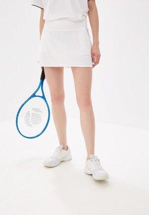 Юбка-шорты adidas CLUB SKIRT. Цвет: белый