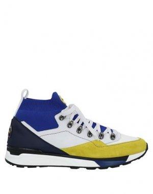 Высокие кеды и кроссовки BARRACUDA. Цвет: белый