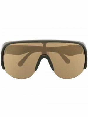 Солнцезащитные очки Phanthom Moncler Eyewear. Цвет: зеленый