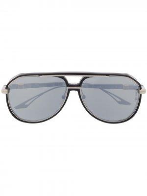Солнцезащитные очки со съемными дужками Dita Eyewear. Цвет: черный