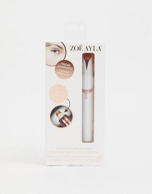 Прибор для безболезненного удаления волосков бровей -Белый Zoe Ayla