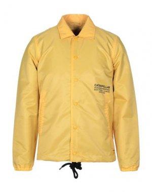 Куртка CATERPILLAR. Цвет: желтый