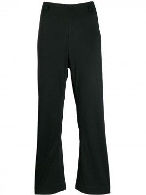 Укороченные брюки клеш 1990-х годов Prada Pre-Owned. Цвет: черный