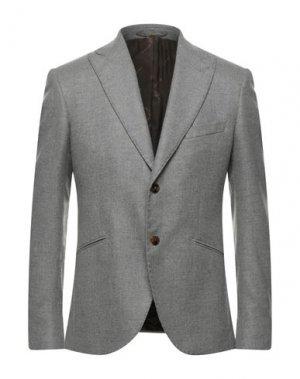 Пиджак MAURIZIO MIRI. Цвет: серый