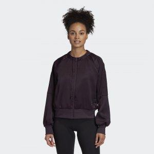 Куртка-бомбер Glam On Sportswear adidas. Цвет: фиолетовый