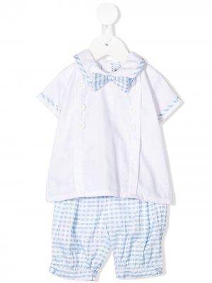 Комплект из брюк и футболки в клетку Aletta