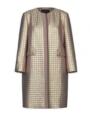 Легкое пальто LES COPAINS. Цвет: зеленый