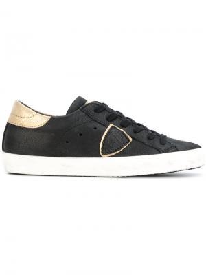 Кроссовки Paris Philippe Model. Цвет: черный