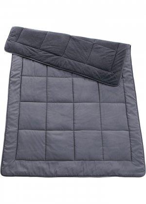 Одеяло с флисом bonprix. Цвет: серый