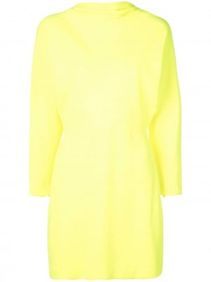 Приталенное платье мини A.L.C.. Цвет: желтый