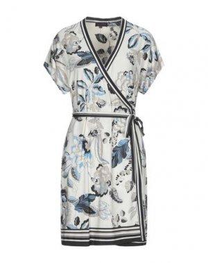Короткое платье HALE BOB. Цвет: бежевый