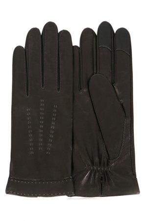 Перчатки Michel Katana. Цвет: коричневый, черный