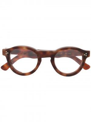 LESCA GASTON 036 Acetate. Цвет: коричневый