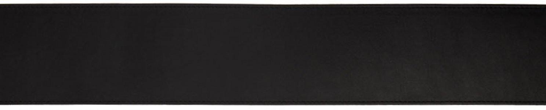 Black Leather B Belt Balmain. Цвет: 0pa black