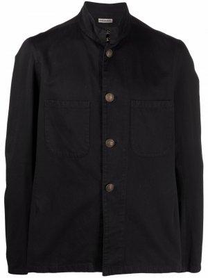 Куртка 1990-х годов с воротником-воронкой Dries Van Noten Pre-Owned. Цвет: черный