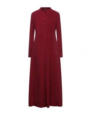 Длинное платье EUROPEAN CULTURE. Цвет: пурпурный