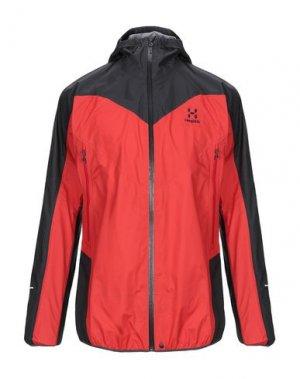 Куртка HAGLÖFS. Цвет: красный