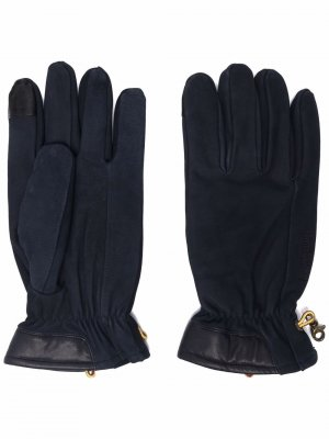 Перчатки с кулиской Timberland. Цвет: синий