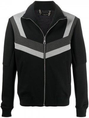 Спортивная куртка на молнии Philipp Plein. Цвет: черный