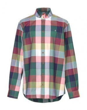 Pубашка VIVIENNE WESTWOOD. Цвет: зеленый