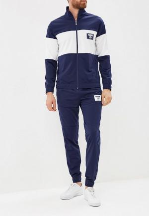 Костюм спортивный PUMA Rebel Block Tricot Suit Cl. Цвет: синий